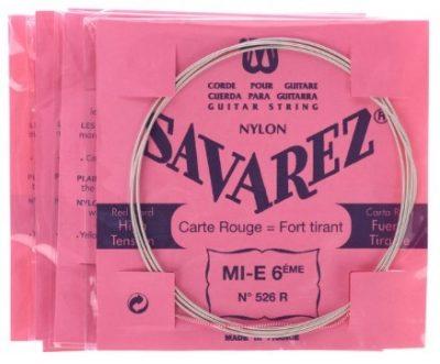Savarez Rouge 520R Jeu Classique