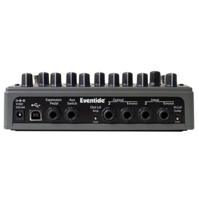 EVENTIDE SPACE REVERB back
