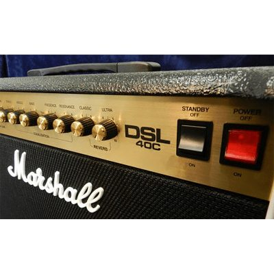 MARSHALL DSL40C combo 40w lampes